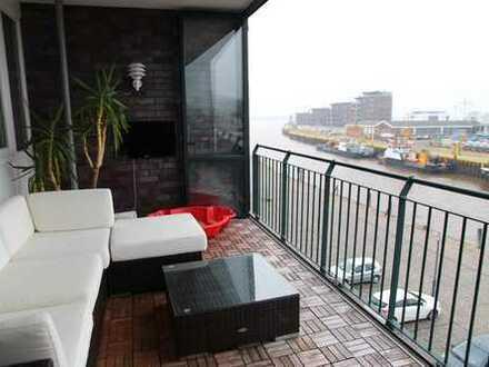 3-Zimmer-Wohnung mit Weserblick in BREMERHAVEN GEESTEMÜNDE