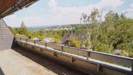 Drei Zimmer Wohnung mit großer Terrasse und Blick ins Grüne