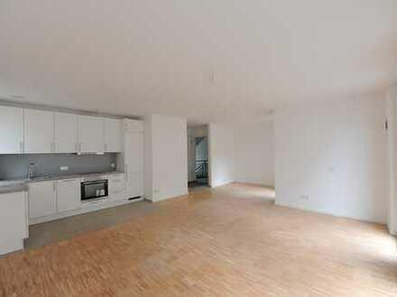 Stilvolle, neuwertige und moderne 2-Zimmer-EG-Wohnung mit großzügiger Terrasse und EBK in Mainz