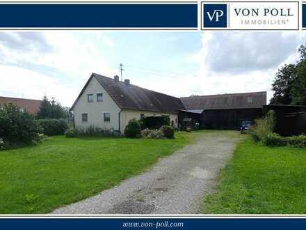 Großes Grundstück mit Altbestand in ruhiger Ortsrandlage von Lauingen