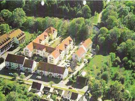 1 Zimmer Wohnung in Günzburg mit Tiefgaragenstellplatz, Balkon und Kellerraum