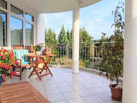 3-Zimmer-Wohnung mit Terrasse, Balkon & beeindruckendem Panorama in Chemnitz / Einsiedel