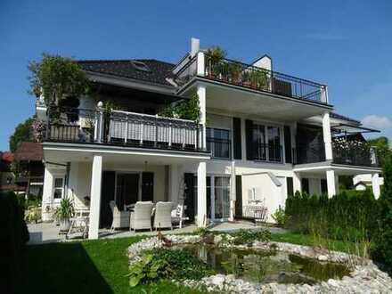 Stadtvilla in Toplage - exklusiv ausgestattete neue Wohnung mit Lift!