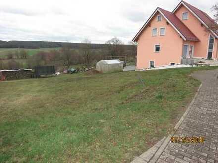 Baugrundstück mit 1003 m² Gesamtfläche
