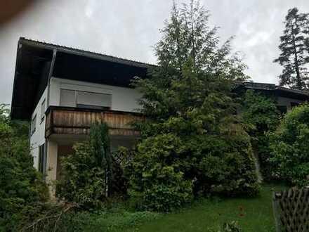 Haushälfte (5-Zi-Wo.) in ruhiger Lage in Rottach-Weißach befristet zu vermieten