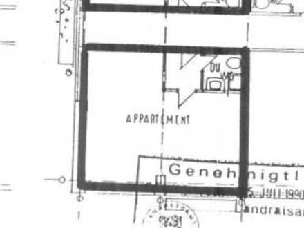 1-Zimmer-Wohnung mit Kochnische in Heiningen provisionsfrei