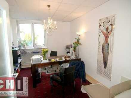 ** Grünwald ** 5 Zimmer Büro - mit kleinem Gartenanteil
