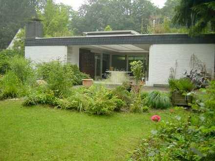 Freistehendes Atriumhaus direkt am Wald, ruhig, an der Ortsgrenze zu Köln-Dünnwald