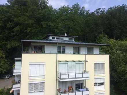 Modernes 2 ZKB-Penthouse mit Lift in TOP-Lage in Bad Herrenalb, 90qm /umlauf. Terr., € 740,- + NK/HZ