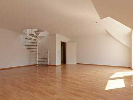 Traumhafte Maisonette Wohnung am grünen Leipziger Stadtrand