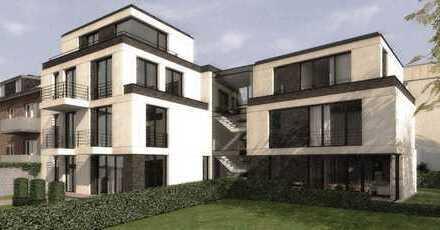 Wohnung auf zwei Etagen mit hochwertiger Ausstattung, Balkon, Terasse und Gartenanteil