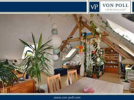 Helle 3 Zimmer Dachgeschoss-Maisonette Wohnung