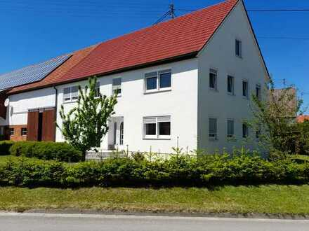 Schönes und saniertes 5-Zimmer-Farmhaus zur Miete in Roggenburg, Roggenburg