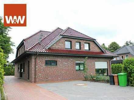Schicke große Obergeschosswohnung im 2-Familienhaus in Ganderkesee, BJ 2009, mit Garten, ruhige Lage