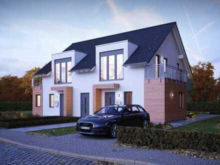 Doppelhaus für zwei Familien