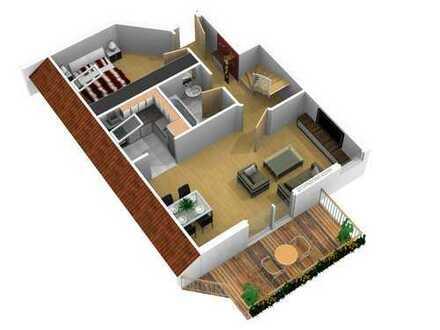 Schöne 3 Zimmerwohnung in Radburg zu vermieten