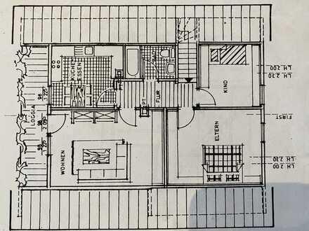 Schöne drei Zimmer Wohnung in Rhein-Pfalz-Kreis, Dannstadt-Schauernheim