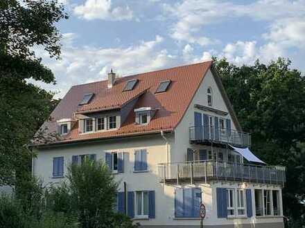 Sanierte 6-Zimmer-Maisonette-Wohnung mit Balkon und Einbauküche in Tübingen Innenstadt
