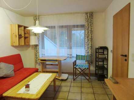 Möblierte 1 Zi.-Wohnung für Wochenend-Heimfahrer