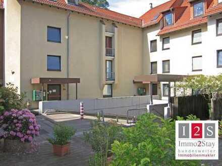 Leerstehende 3-Zimmer-Wohnung mit TG-Stellplatz in der Innenstadt