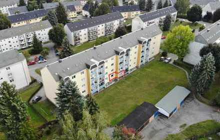 Sehr schöne 3-Raum-Wohnung (61m²) in Zschopau: ruhige Lage, zentrumsnah, mit Balkon & Hochparterre!