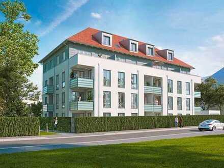 Der Hingucker: 4-Zi.-Dachgeschoss-Maisonette mit Südterrasse, Ostbalkon und separaten Eingängen