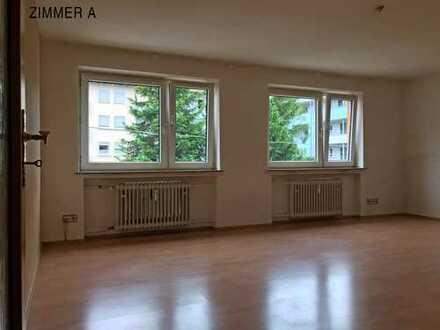 Vollständig renovierte 3-Zimmer-Wohnung mit Balkon in der Ulmer Weststadt