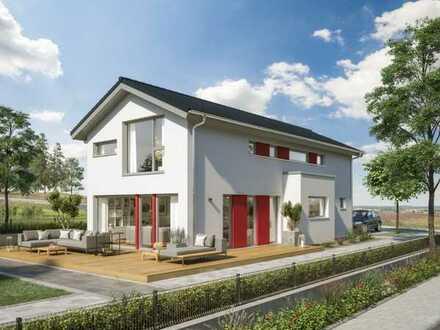 Einfamilienhaus mit Baugenehmigung in begehrter Wohnlage!