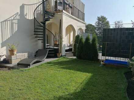 Großzügige Maisonette-Whg. mit Balkon, Terrasse und Gartenanteil in Wolfratshausen