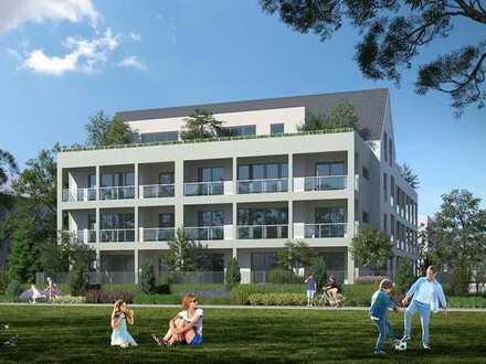 Erstbezug: schöne 3-Zimmer-Terrassenwohnung mit Einbauküche und Balkon in Ortenaukreis
