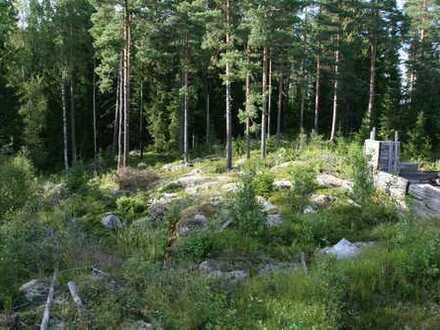 Wald-und Seenreiches Baugrundstück für Naturliebhaber