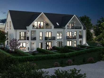 ACHTUNG! letzte Einheit!-exkl. Maisonette-Wohnung mit 4-5-ZKB,Süd-Terrasse/Garten, Balkon+TG