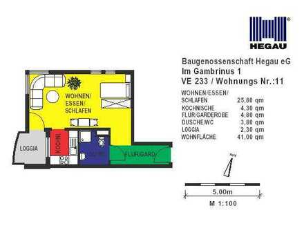 SENIOREN-Wohnung in der Singener Stadtmitte