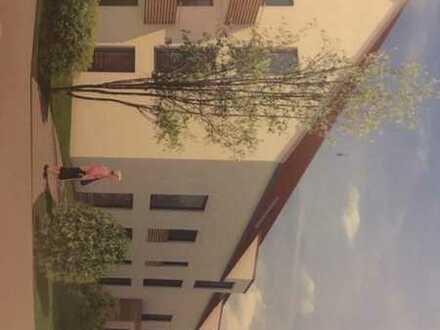 Erstbezug: schöne 3-Zimmer-EG-Wohnung mit Balkon in Dirlewang