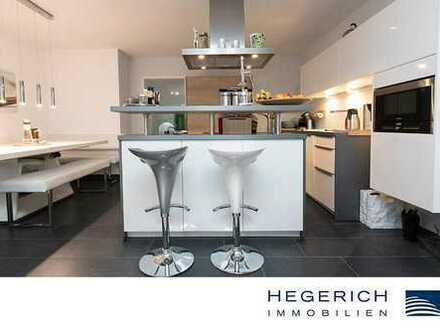 HEGERICH: Moderne 4-Zimmer-Wohnung mit Balkon und Wintergarten in Gilching
