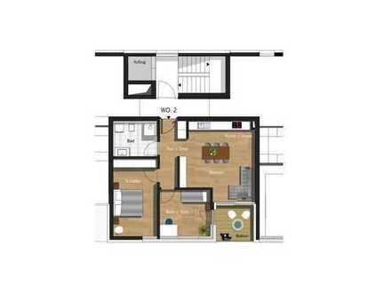 3,5-Zimmer-Wohnung inkl. TG-Stellplatz