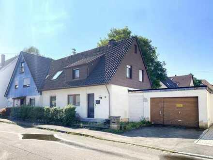 2 Doppelhaushälften mit großem Garten in Ötlingen