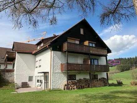 In ruhiger Ortsrandlage - Tolle 2 - Zi.-Wohnung in idyllischer Lage von Weiler