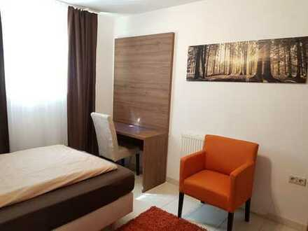 Kurzzeitvermietung! Möbliertes Zimmer ab sofort zu vermieten in Esslingen-Mettingen ( Nähe Daimler W