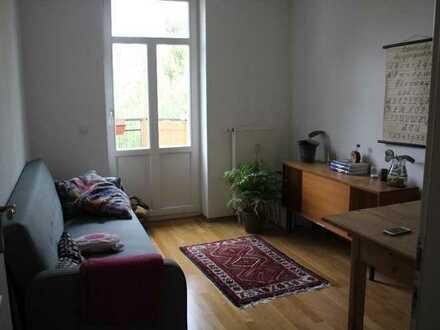Helles Zimmer in schöner WG mit Wohnzimmer im Szeneviertel Connewitz
