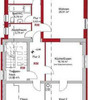 Erstbezug nach Sanierung: schöne 4-Zimmer-Wohnung mit gehobener Innenausstattung in Dorsten