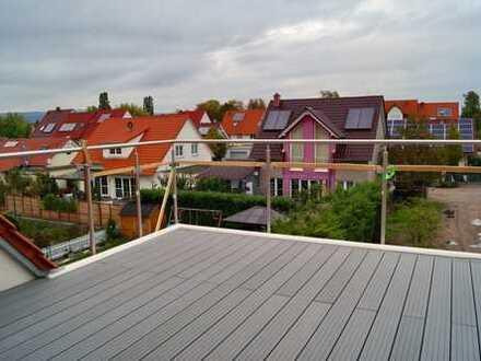 Barrierefreie Dachgeschosswohnung mit direktem Fahrstuhlzugang