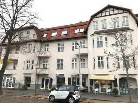 Hübsche 2-Zimmer Wohnung mit Blick über die Bahnhofstraße in Eichwalde