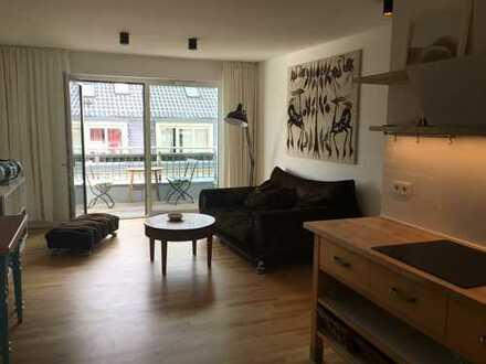Erstbezug: exklusive 3-Zimmer-Maisonette-Wohnung mit Einbauküche und Balkon in Dresden