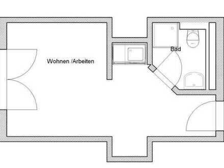 Ab 16.7./1.8.mgl: STUDENTEN-Ap. mit Balkon und Pantryküche, 420€ warm inkl. BK/HK/WW/eigenem Strom!