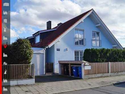 Großzügige Doppelhaushälfte mit 4-Zi + Hobbyraum Nähe Lerchenauer See