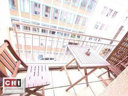 Mitten in der Münchner Altstadt - schön renovierte 3-Zimmer-Wohnung mit Balkon