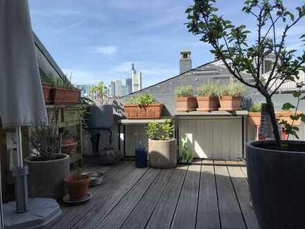 Dachterrassenwohnung mit Skylineblick
