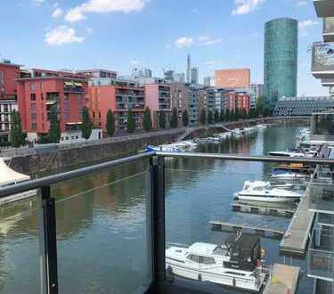 Exklusive 4-Zimmer-Wohnung am Westhafen auf der Mole