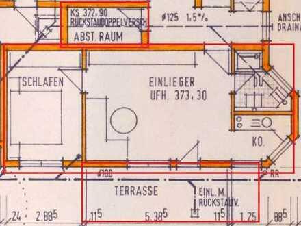 Helle 2-Zimmer-Wohnung mit Terrasse und Einbauküche in Ammerbuch-Entringen